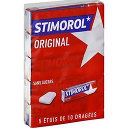 Stimorol Chewing-gum Original avec édulcorants sans sucres