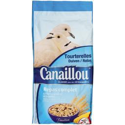 Repas complet graines et céréales pour tourterelles