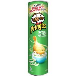 Pringles Biscuits apéritif Sour Cream & Onion le boite de 210 g