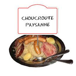 Choucroute de Krautergersheim La Paysanne