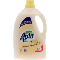 Lessive liquide traditionnelle savon de Marseille
