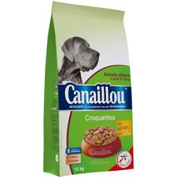 Croquettes volaille/bœuf pour grands chiens 30 kg