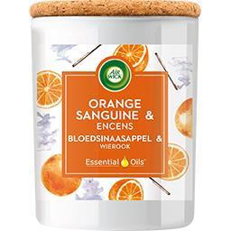 Essential Oils - Bougie orange sanguine et encens