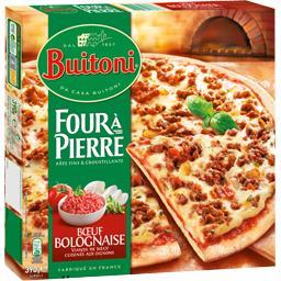 Four à Pierre - Pizza bœuf Bolognaise
