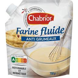 Farine fluide sans grumeaux