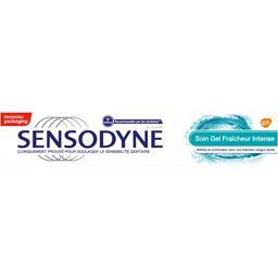 Dentifrice gel fraîcheur, soulage les dents sensible au chaud et au froid, le tube de 75ml