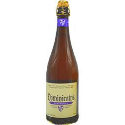 Bière blonde dorée Quadrupel 9