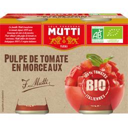 Pulpe de tomate en morceaux BIO