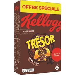 Kellogg's Trésor - Céréales fourrées chocolat noir