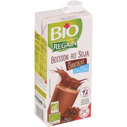 Boisson au soja chocolat source de calcium BIO