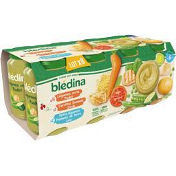 Assortiment légumes dinde colin poulet, de 6 à 36 mo...