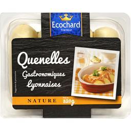 Ecochard Quenelles gastronomiques lyonnaises nature