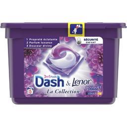 Dash 2 in 1 Bouquet mystère 3en1 - lessive en capsules