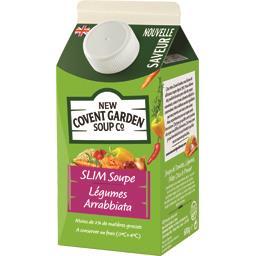Slim soupe légumes arrabiata