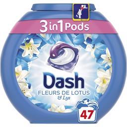 3en1 - pods - fleurs de lotus - lessive capsules