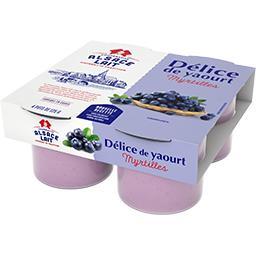 Délice de yaourt myrtille