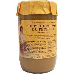 Soupe de poisson du pêcheur,Azaïs Polito,le bocal de 630g