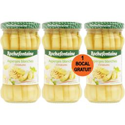 Asperges miniatures blanches