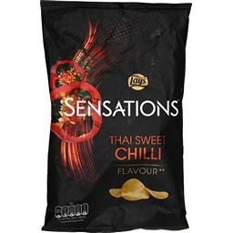 Sensations - Chips saveur piment doux à la Thaï