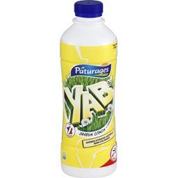 Yaourt à boire Yab saveur citron
