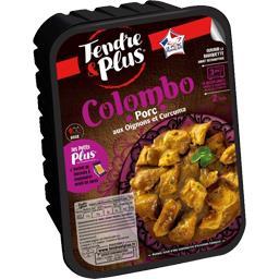 Colombo porc aux oignons et curcuma