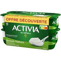 Activia - Lait fermenté brassé nature