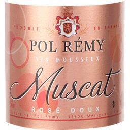 Mousseux Brut rosé Muscat Pol Remy
