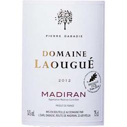 Domaine de Laougué, Madiran, vin rouge, 2012