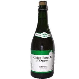 Bouland Cidre extra brut bouché d'orgueil Bouteille 75 cl