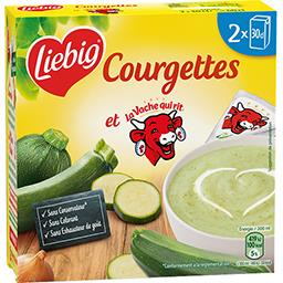 Soupe de courgettes au fromage La Vache qui Rit