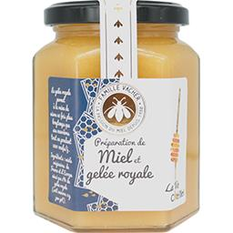 Préparation de miel et de gelée royale