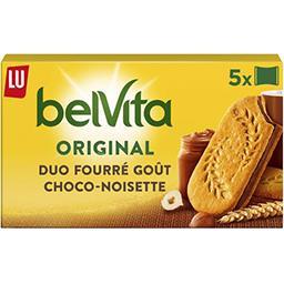 Belvita Petit Déjeuner - Biscuits Duo Fourré goût ch...