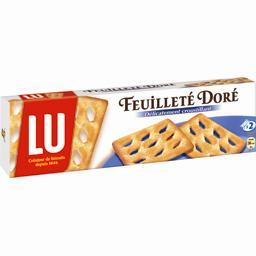 Biscuits Feuilleté Doré