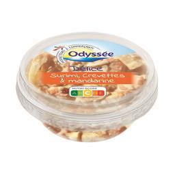 Préparation à tartiner surimi crevette et mandarine