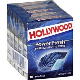 Hollywood Power Fresh - Chewing-gum menthe forte sans sucres