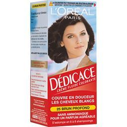 Dédicace - Crème fluide colorante brun profond 25