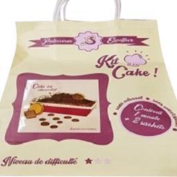 Pâtisserie escoffier Kit cake au chocolat Le sac de 215 gr