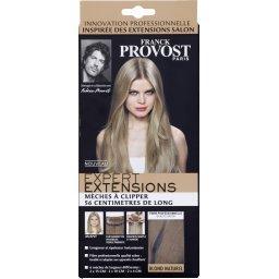 Mèches à clipper 56 cm de long, blond naturel