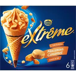 L'Original - Cônes macaron caramel pointe de sel