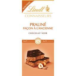 Lindt Connaisseurs - Chocolat noir praliné façon à l'ancie... la tablette de 120 g