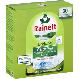 Tablettes lave-vaisselle Tout en 1 citron vert