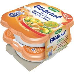 Blédichef - Sauté de pommes de terre, petits pois et...