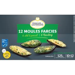 Française de Gastronomie Moules farcies ail & persil/Riesling