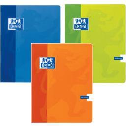 Cahier agrafé grands carreaux 17x22cm, coloris assor...