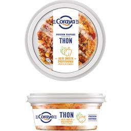 Tartinable thon aux deux poivrons et piment