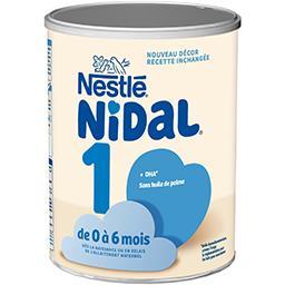 Nidal - Lait en poudre 1, de 0 à 6 mois