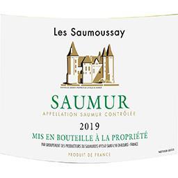Saumur Les Saumoussay vin Blanc sec 2017