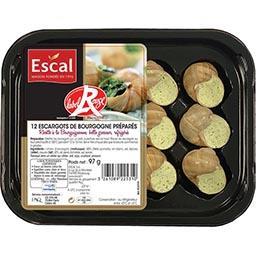 Escargots de Bourgogne préparés Label Rouge