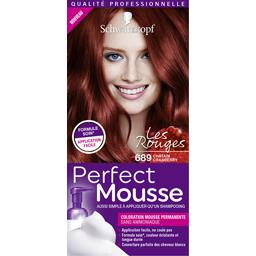 Coloration permanente Perfect Mousse 689 châtain cra...