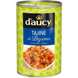 Tajine de légumes cuisinés aux 5 épices